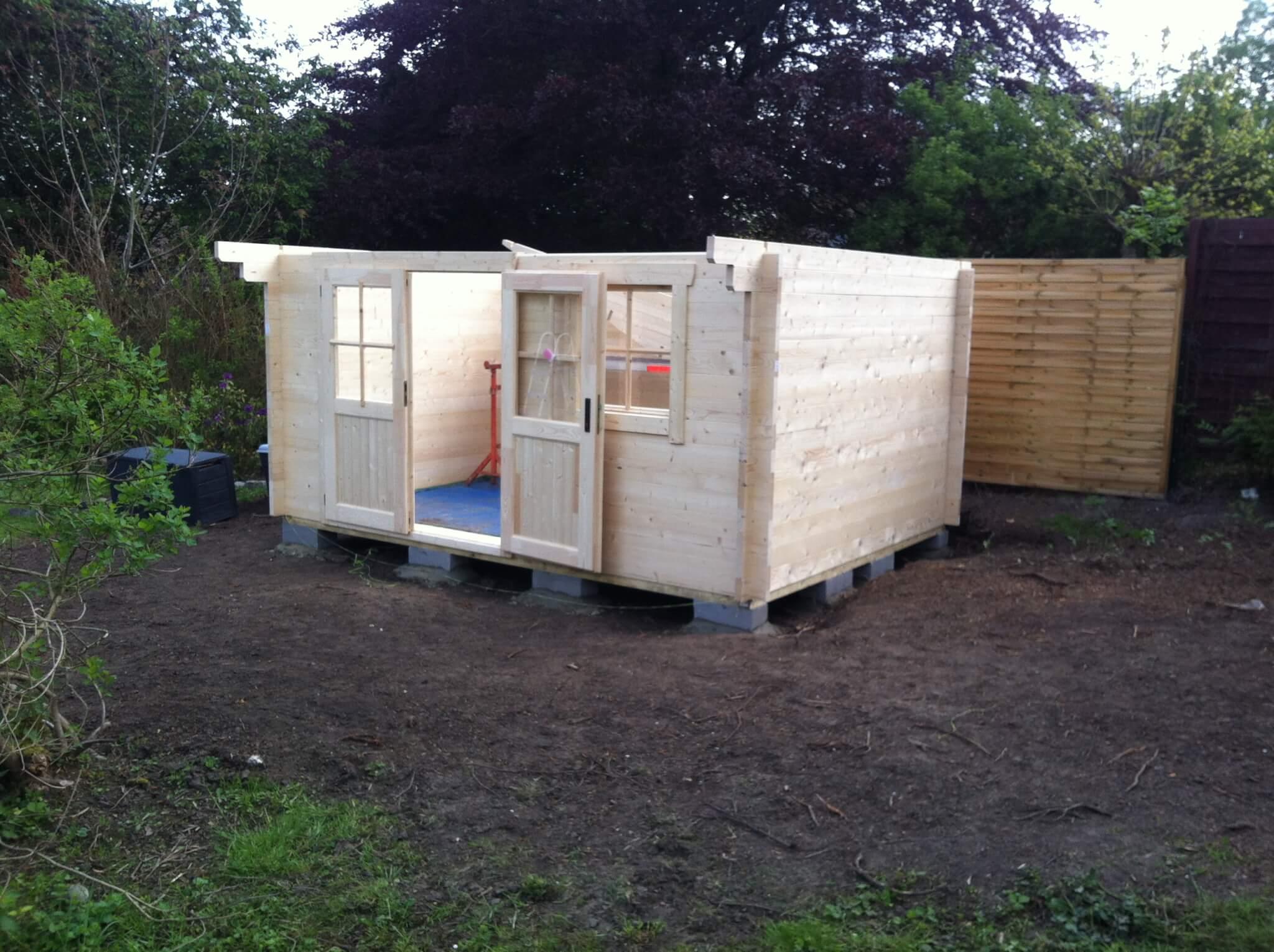 construction chalet en bois constructal. Black Bedroom Furniture Sets. Home Design Ideas